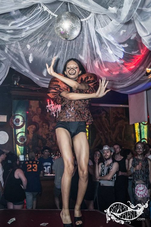 LYLAS: A Ball to Remember at Berlin Nightclub Chicago; 2016;  role: installations ; photographed by Kater Jane Photography; pictured: Alessa