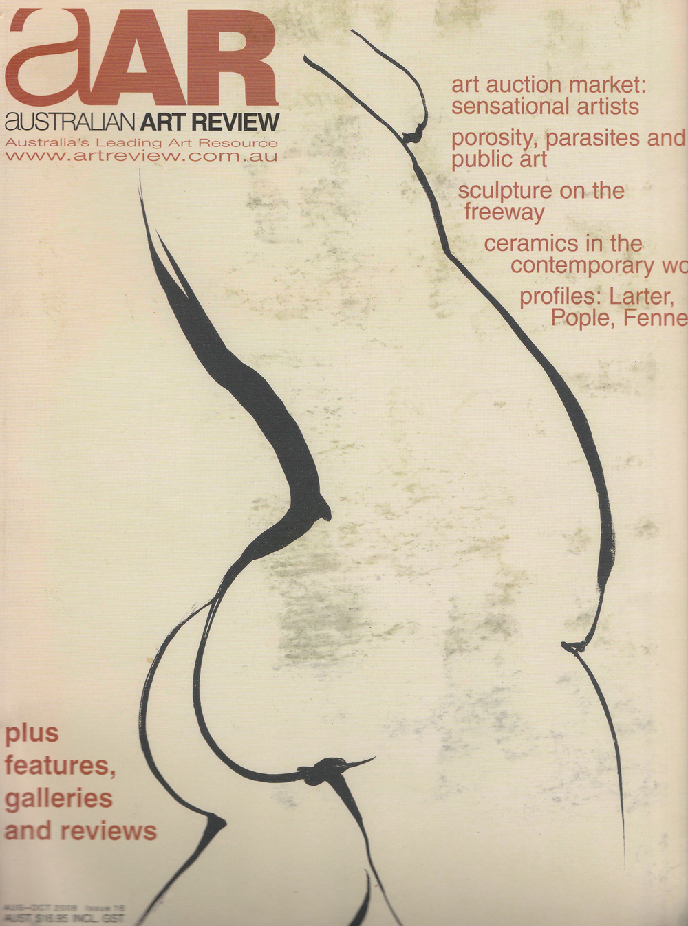 Australian Art Review Issue 16 2008