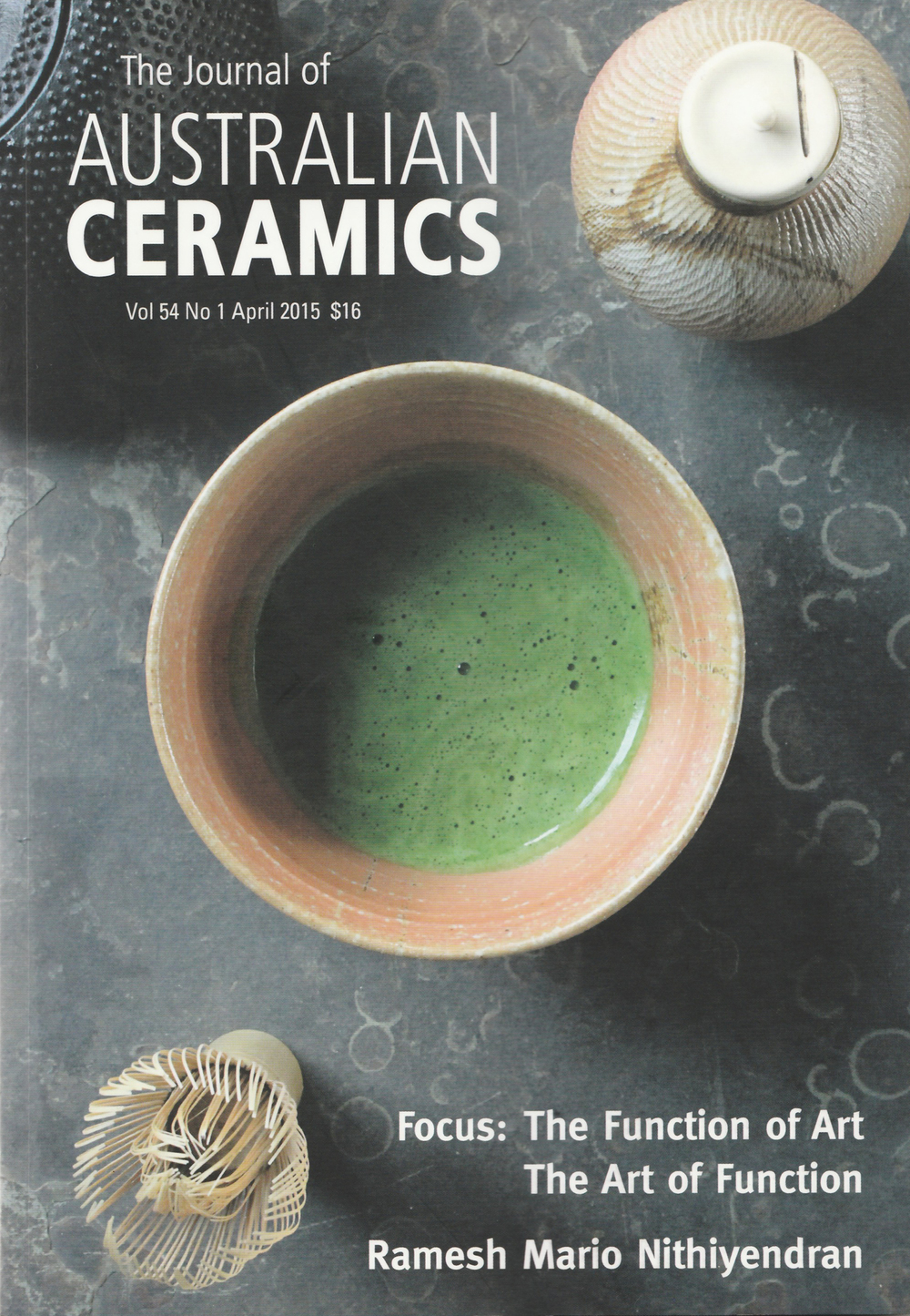 READ: Journal of Australian Ceramics 54/1 2015