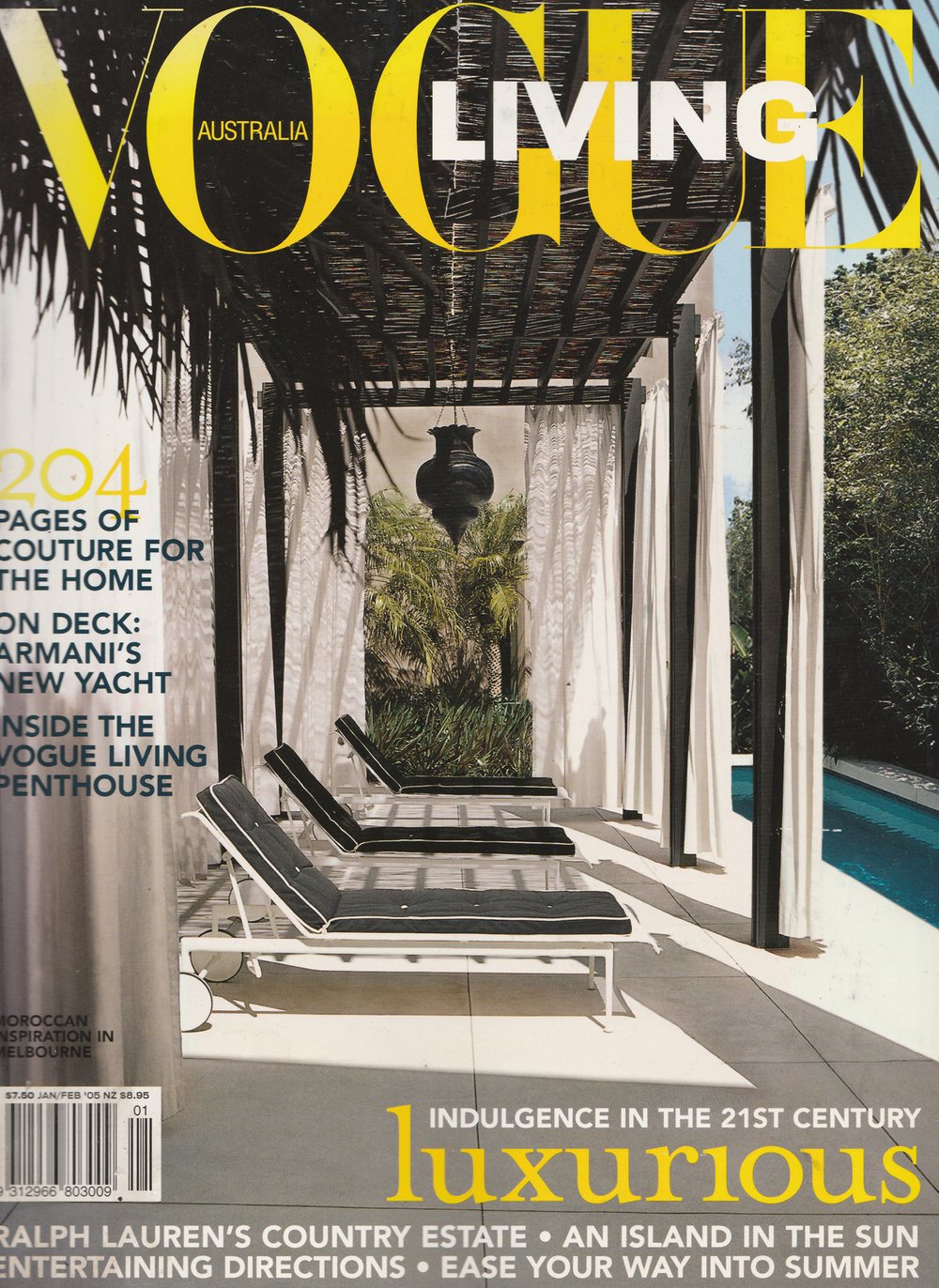 Vogue Living Jan-Feb 2005