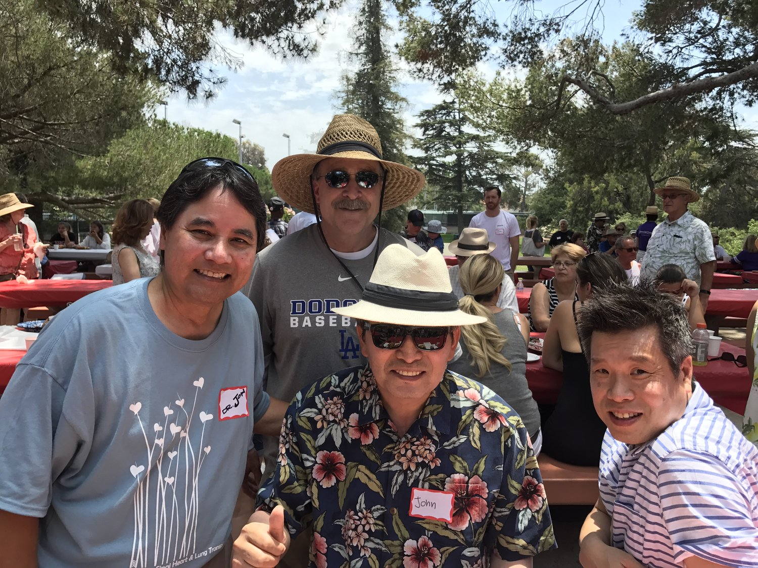 One Year Later    Cedars Sinai's Patient Picnic — copinghearts