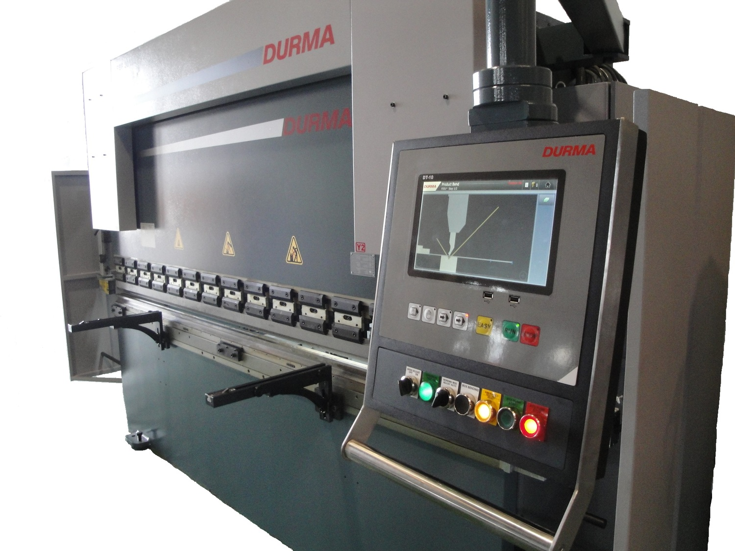 INTRODUCING THE FIGHTER SERIES OF DURMA PRESS BRAKE