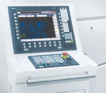 Control Unit Siemens 840D controller  Durma laser machines achieve the highest dynamics and the fastest laser processing cycle times thanks to the combination of rigid mechanics and a state-of-the-art numerical control and drive system. The graphical user interface ensures an easy operation of the machine and the on-board libraries of reference cutting parameters for various materials and thicknesses allow the operator to achieve optimal cutting results in a minimum amount of time. Programs can be loaded easily into the machine with a USB stick or over a fast Ethernet connection with the company network.