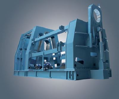 Robust Machine body  The machine body is strengthen and lowered to minimise twisting and deformation. All components of the machine frame including the cross members are stress relieved after welding.