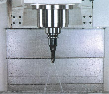 Coolant Through Spindle  Option 20 bar (280 PSI)