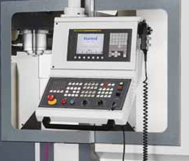 Control Upgrades  Fanuc Function: AI, Contour Control-- II, Preread ahead 200 Blocks;  - Fanuc Function: Data server, 1 gig of memory;                                            - NANO smoothing: (Includes Contour control II - Polar coordinate;command (J818)  - Automatic Power Off