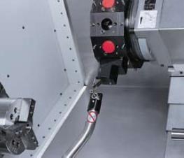 Renishaw tool probe    Programmable - Automatic / Manual operation
