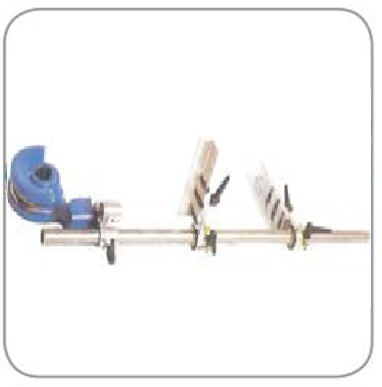2 Axes Length Stop Device  Used with steel formers with radius from 150 to 250mm