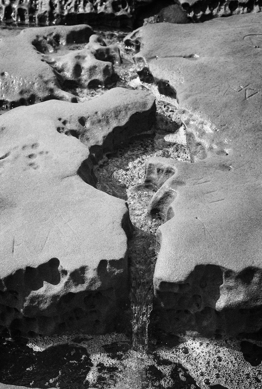 Little Waterfall - La Jolla Tidepools