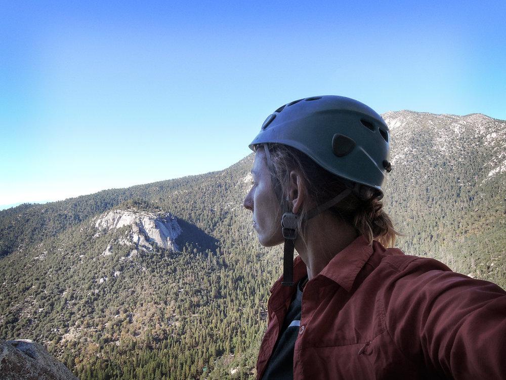 Climbing in Idyllwild