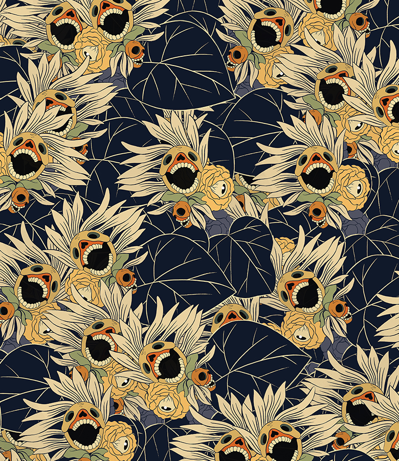 Cun Shi Illustration pattern