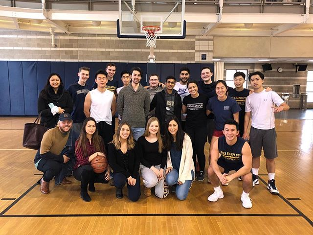 Undefeated and it feels so good! AKPsi beats DSP 50-32 🏀