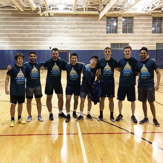Congrats to the Intramural team for winning the Championship earlier this week! #akpsi #betamu #gwu