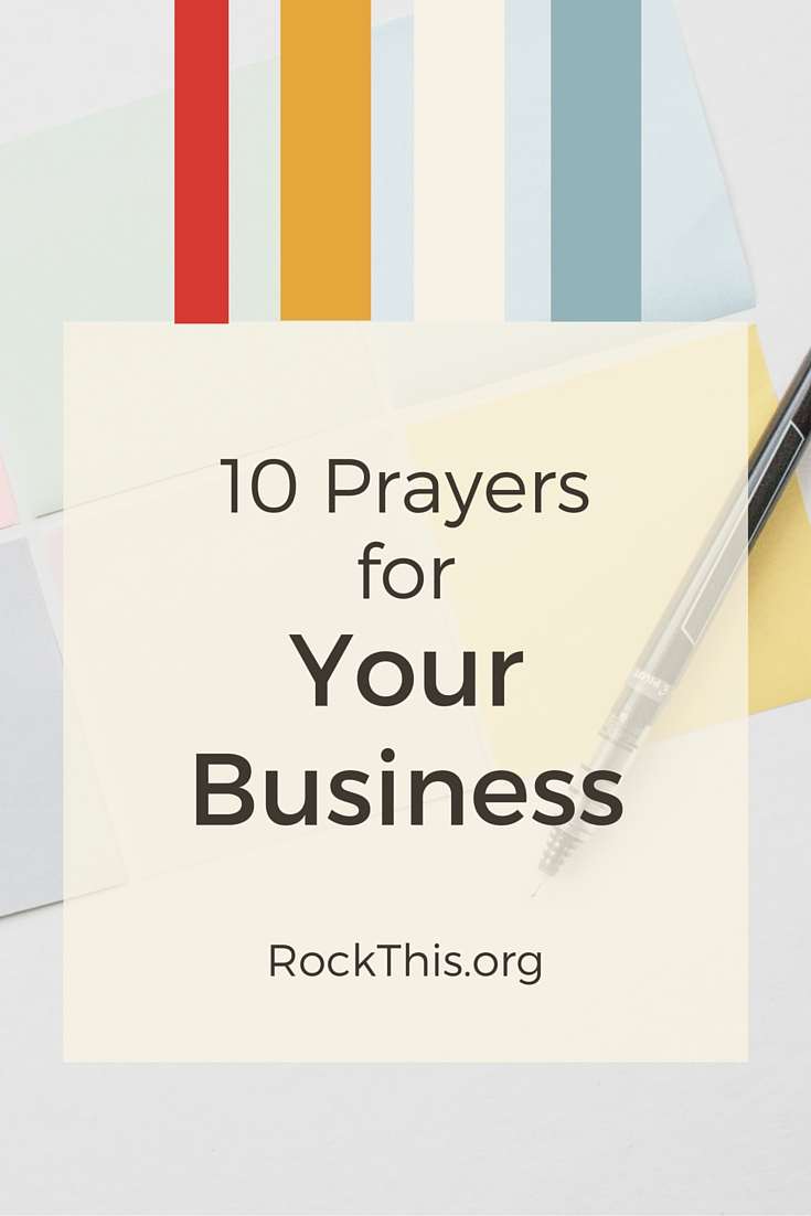 As believers and business owners, praying for our business should be a daily practice. Our businesses are not just ours -- they are His, and we are just stewards of it. As much as we go through goal setting and growth strategies, God has even bigger dreams for our business. But, how can we pray for our businesses? Here are 10 prayers you can pray for your business.