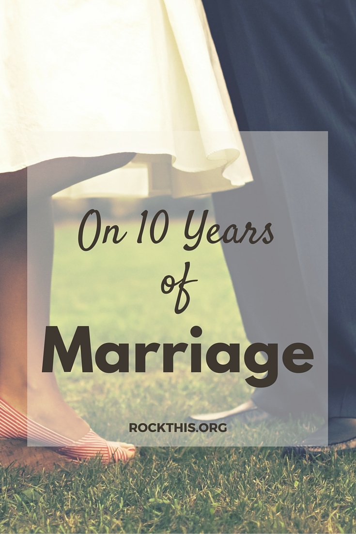 What happens in the years following the wedding? A great read on ten years later.