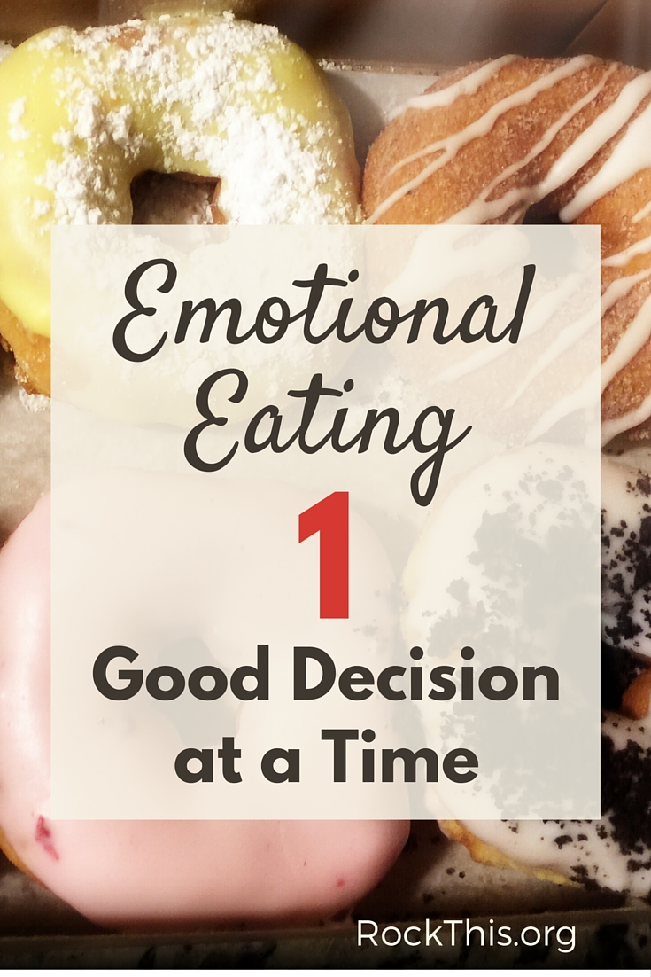 Emotional eating is a real thing. How do you combat it? This is a good read on a first step.