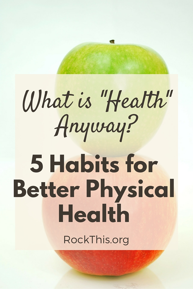 Confused about what it means to be healthy? Unsure of where to even begin? Here! Start here with these 5 Healthy Habits you can implement TODAY!