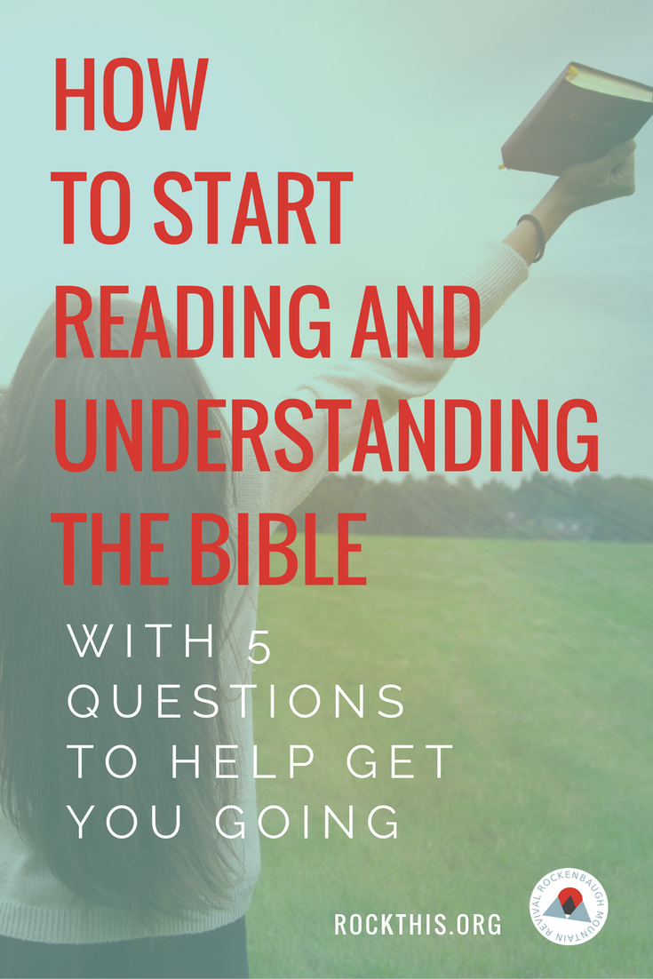 Reading the Bible on your own can be intimidating, but nothing feeds your souls more than time in God's word.  Read on to discover simple ways you can begin immediately reading (and understanding!) the Bible.