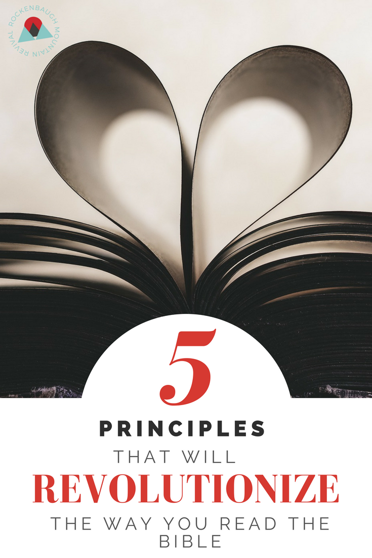 Learning how to understand the Bible can be intimidating, so here are some pointers to help get you started.  Below is everything I wish I had known about the Bible before I ever began studying it.  These 5 principles will change the way you approach Bible study by widening your viewpoint of God's Word and correctly orienting you to it.