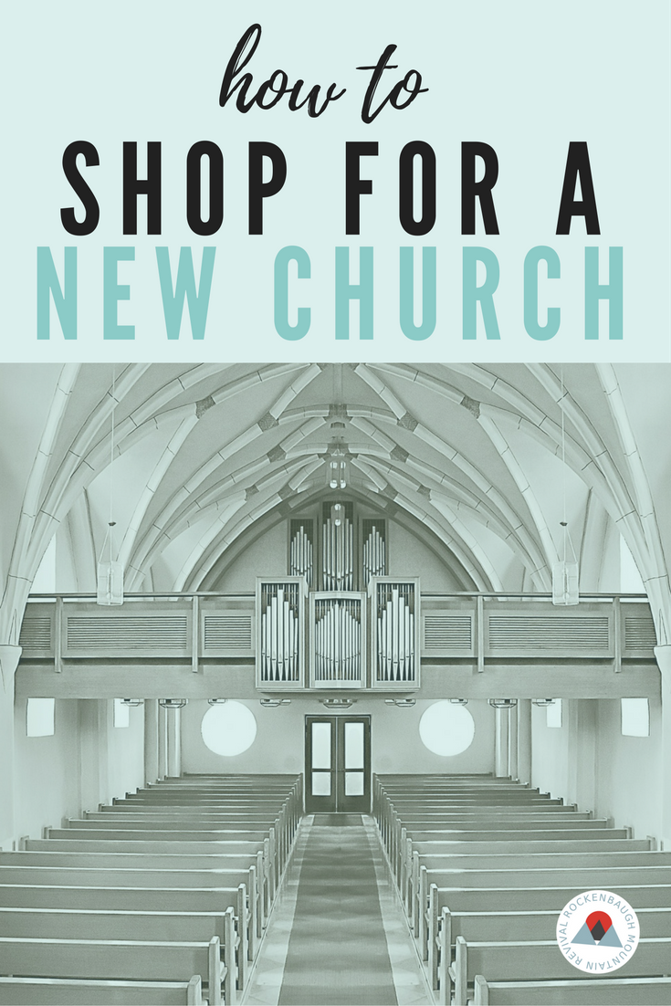 Finding a new church can be a daunting task. It's even more uncomfortable when you're new and don't know anyone. If you've been feeling the nudge to get back into church, this post provides practical ways to make finding a new church home comfortable!