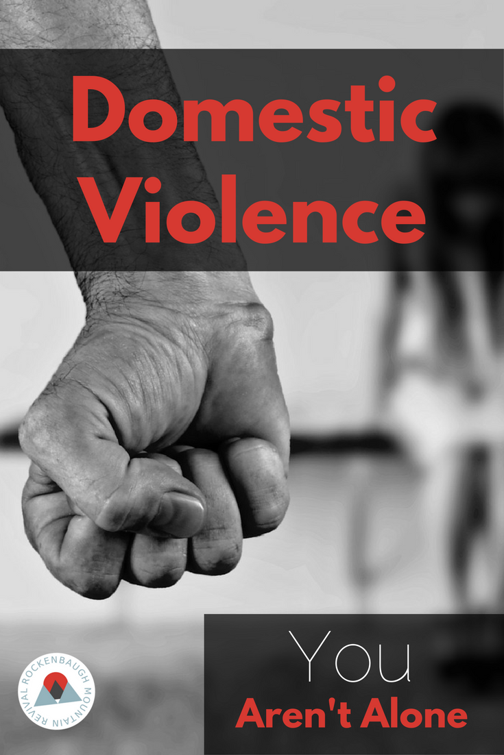Domestic violence is scary. Not telling someone is scarier. We may never know the women in our churches who are struggling with the reality of abuse unless they are empowered to speak up.
