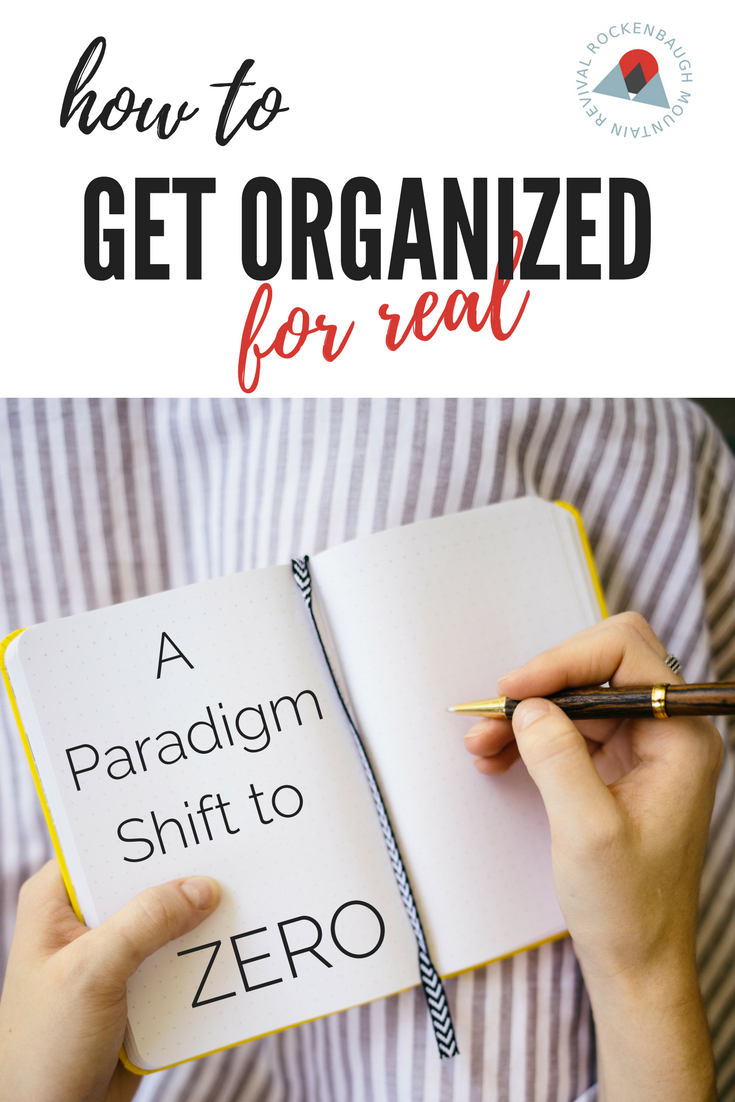 Frustrated that you can't ever get organized in a way that sticks?  Zero is the answer. A proven systematic approach to organization to help you clean up the clutter and mess.