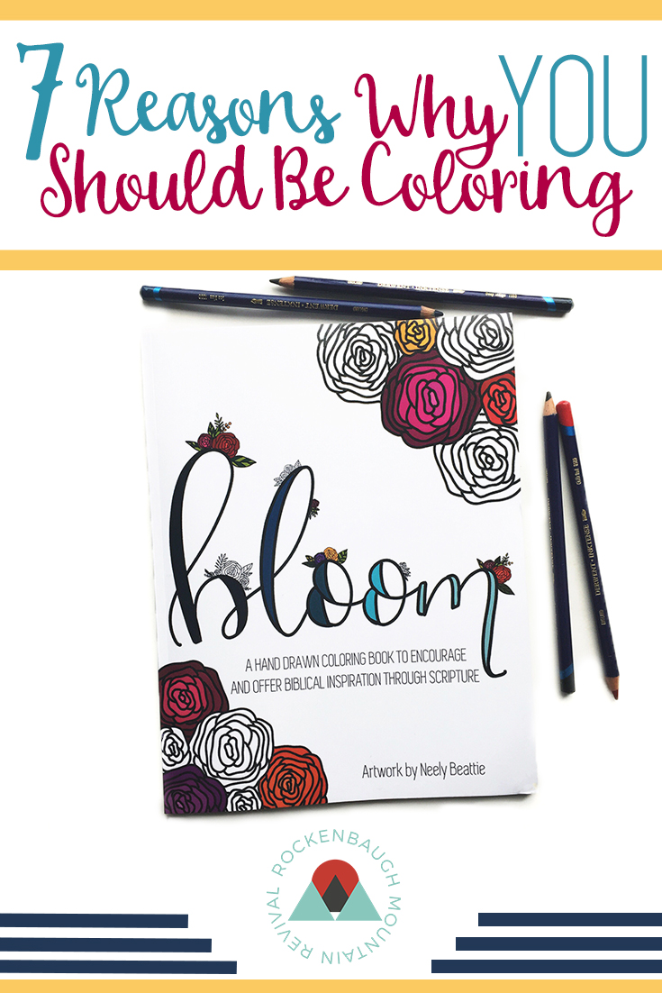 Are you stressed out? Are you looking for a creative way to spend time with God? Coloring might be for you!! This blog lists 7 reasons why you should be coloring and gives a suggestion for a great, Christian-themed coloring book for your creative worship time.