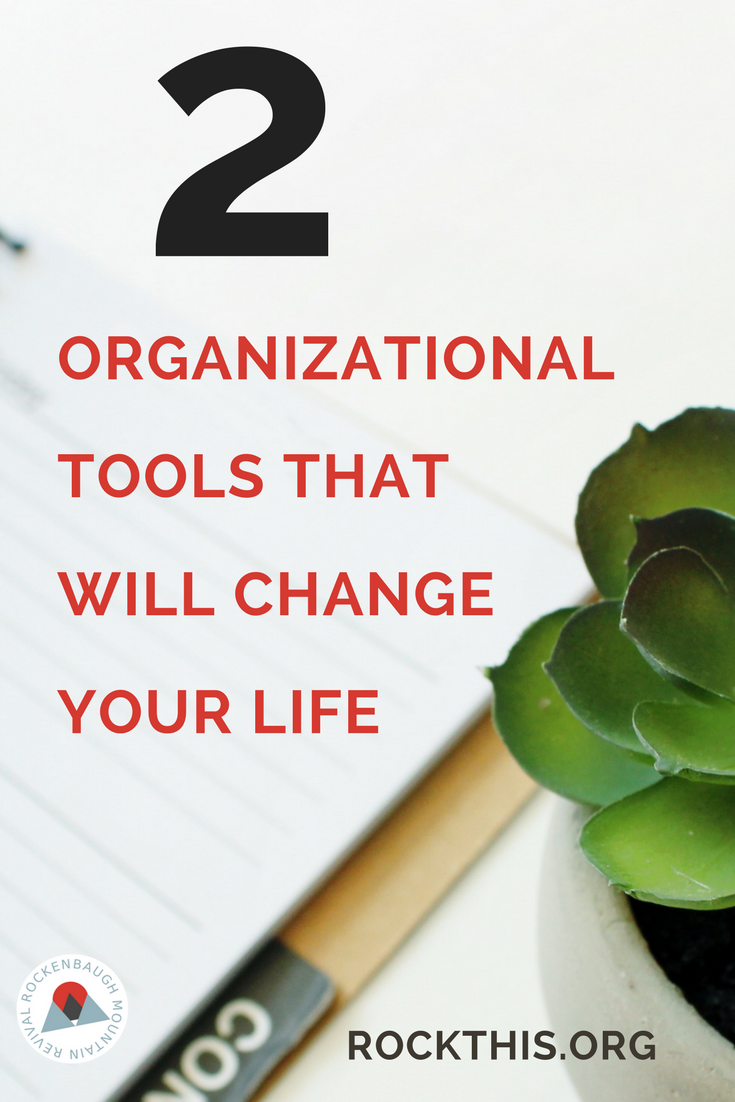 Ready to get organized for real? Here are 2 tools that will change your life. The best part is they are easy to find and affordable. A definite must read!