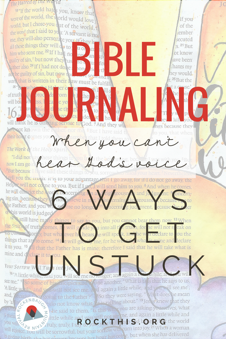 Ever felt stuck when you try to Bible journal? This is a great read on getting your creative juices flowing and most importantly spending time in the Word.