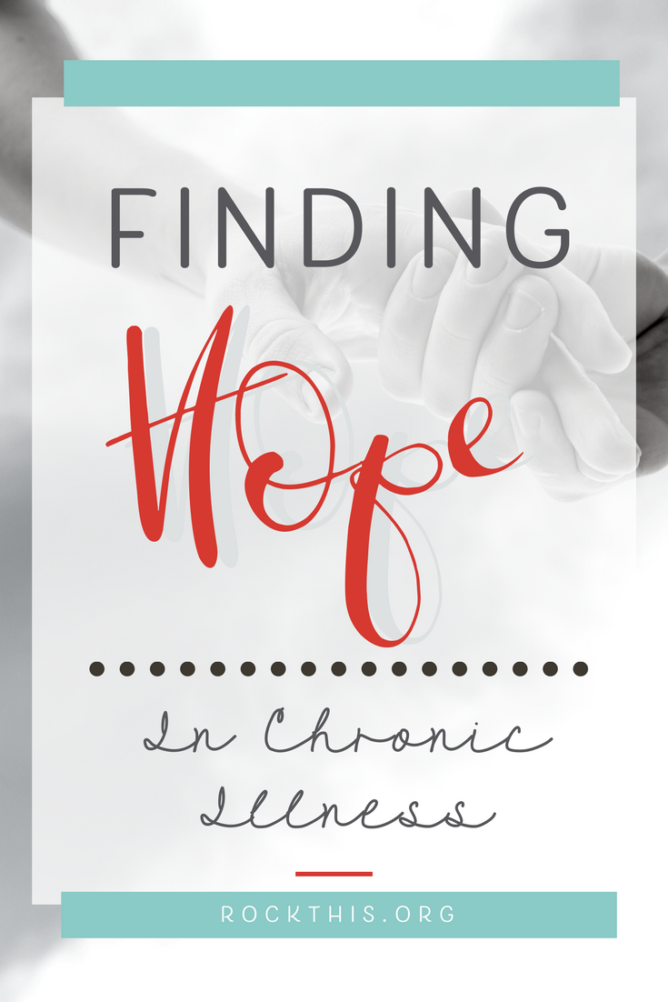 Chronic illness has become more prevalent in our world. Many of these illnesses are invisible to those around you. While the pain can be unbearable at times, there is hope to be found.
