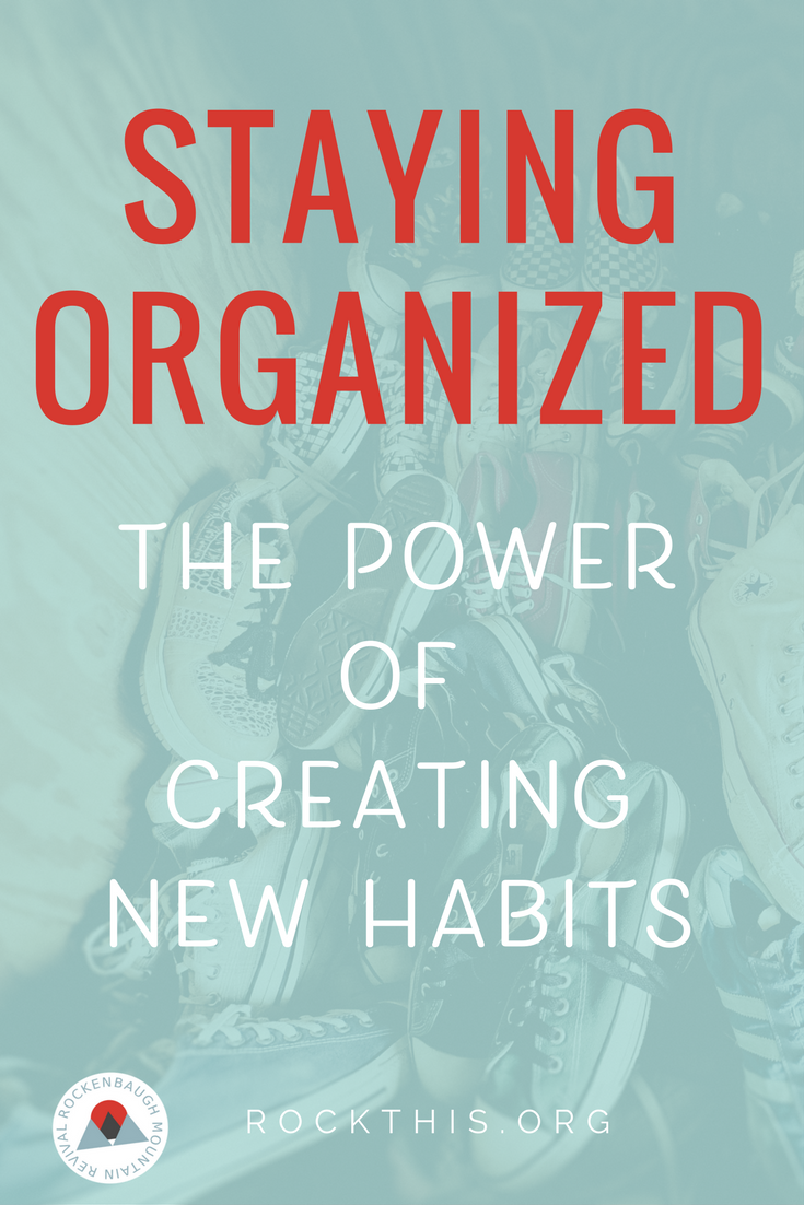 Getting organized isn't the problem.  Staying organized?  Now that's the true struggle.  Read on for insight into why maintenance is so dang hard, plus how to create new habits to help you be successful long-term!