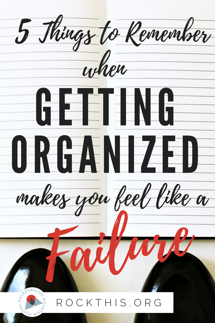 If you've ever felt like a loser when trying to get organized, you've gotta check out this list. Seriously. This is the biblical perspective of organization, and it's exactly what I needed to hear. Five Things to Remember When Getting Organized Makes You Feel Like a Failure.