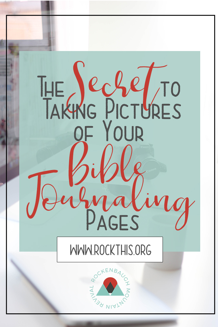 Have you ever wondered how some people take such great pictures of their Bible journaling pages? This blog post lets you in on the secret to taking amazing pictures of your artwork and the best part is, you probably have everything you need!