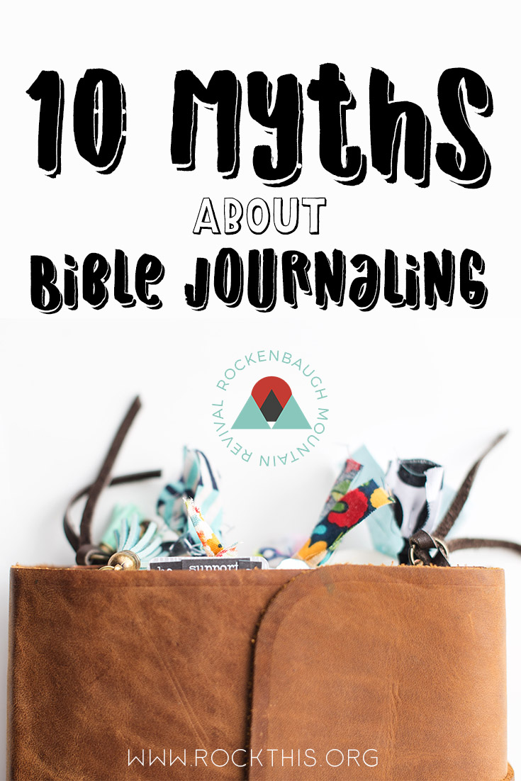 Have you always wanted to bible journal, but there are just some nagging thoughts in your head that keep you from trying? This blog post dispels 10 myths that you might believe about bible journaling once and for all.