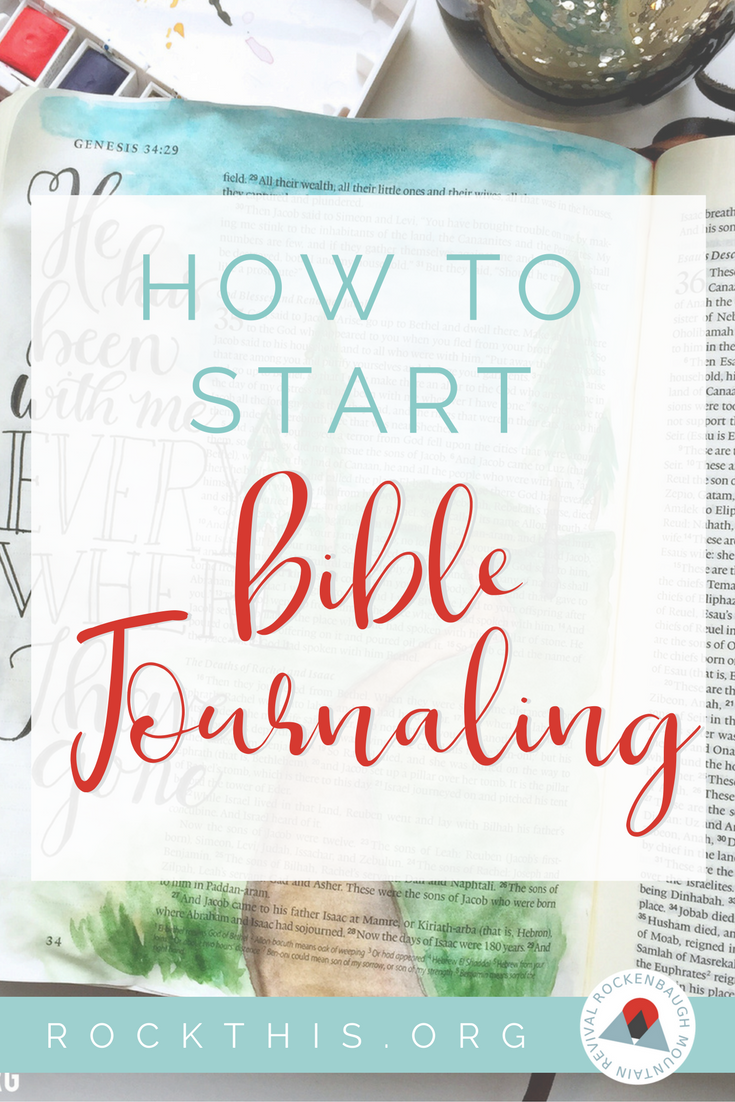 How to Start bible Journaling for Beginners. Looking for a new way to interact in your Bible study? This is a fabulous way to learn a new way of worship. #Biblejournaling #illustratedfaith