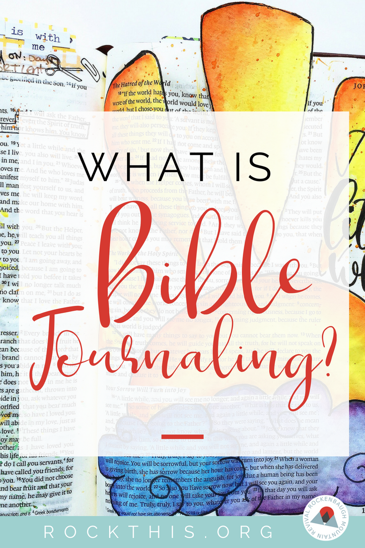 What is this new phenomenon sweeping the net? You may have heard all about Bible journaling or illustrated faith. Learn the basics here. #biblejournaling #illustratedfaith