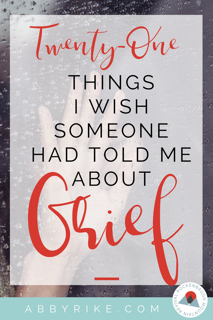 Grief. Read the lessons of a woman who lost her husband and 2 children in a fatal car crash. She knows the pain of being a young widow and the loss not only of a child but children. If you're hurting, this is a must read.
