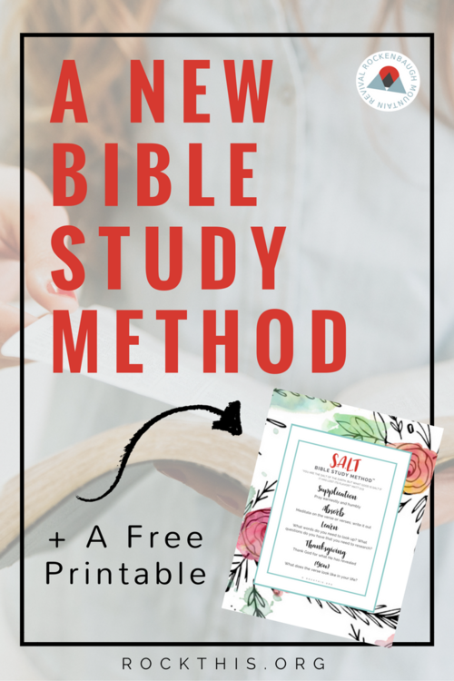 A Brand New Bible Study Method A Free Printable T His Rock
