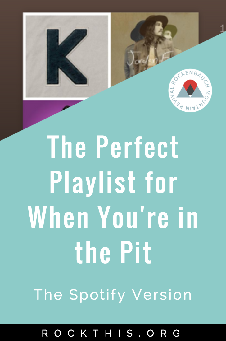 "Are you struggling? Do you wonder how you're going to get out of bed today? Music is powerful ""medicine"" for pain. Here's a great playlist of Christian songs to drown out the negative voices when you're in the pit of pain."