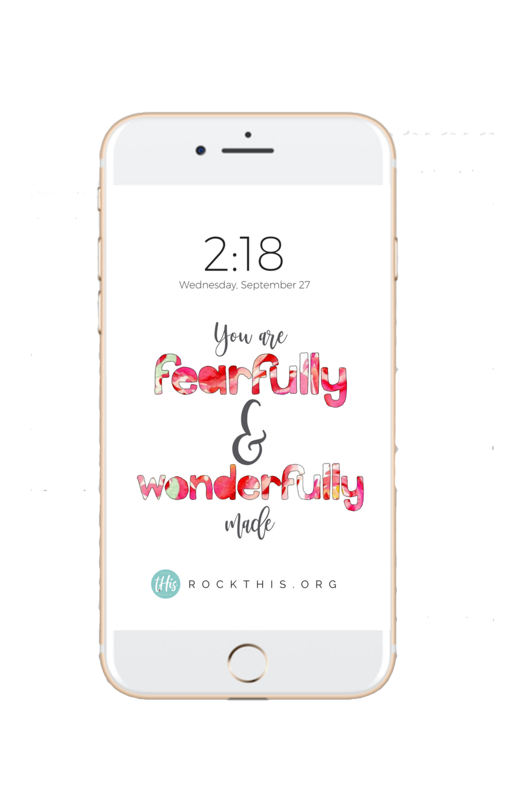 Need a little encouragement in your day? Grab your FREE Scripture lock-screen!