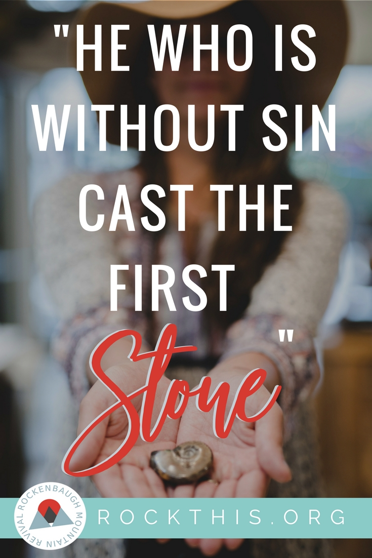 "Why did Jesus say only the sinless person could ""cast the first stone""? Do we understand what it means to judge? There may be more than meets the eye. #Jesus #Biblestudy"