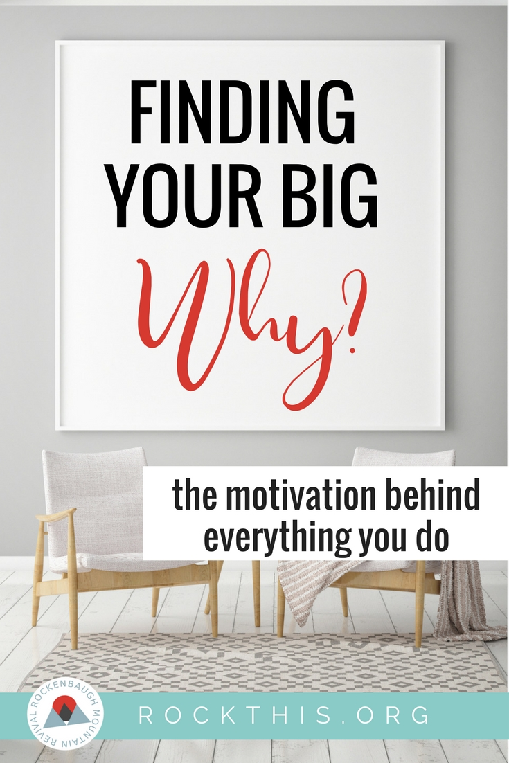 "Sometimes God takes the absolute worst things we do and turns right around and blesses us beyond measure.  Check out one professional organizer's ""big why."" It may just help you figure out your own."