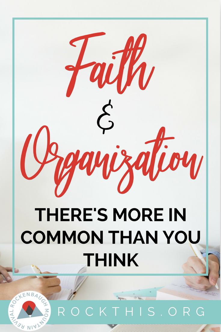 Does the condition of your home reflect the condition of your heart? Getting your mind right about the clutter and disorganization in your house is the first step. Great article about how faith and organization can go hand in hand. #organization #getorganized #clutter #springcleaning