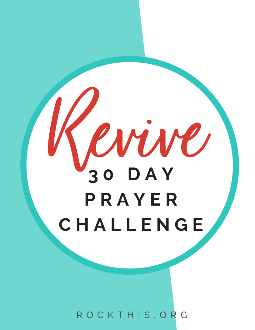 Join the Rock This Revival newsletter and get 30 days of Scriptures to pray!