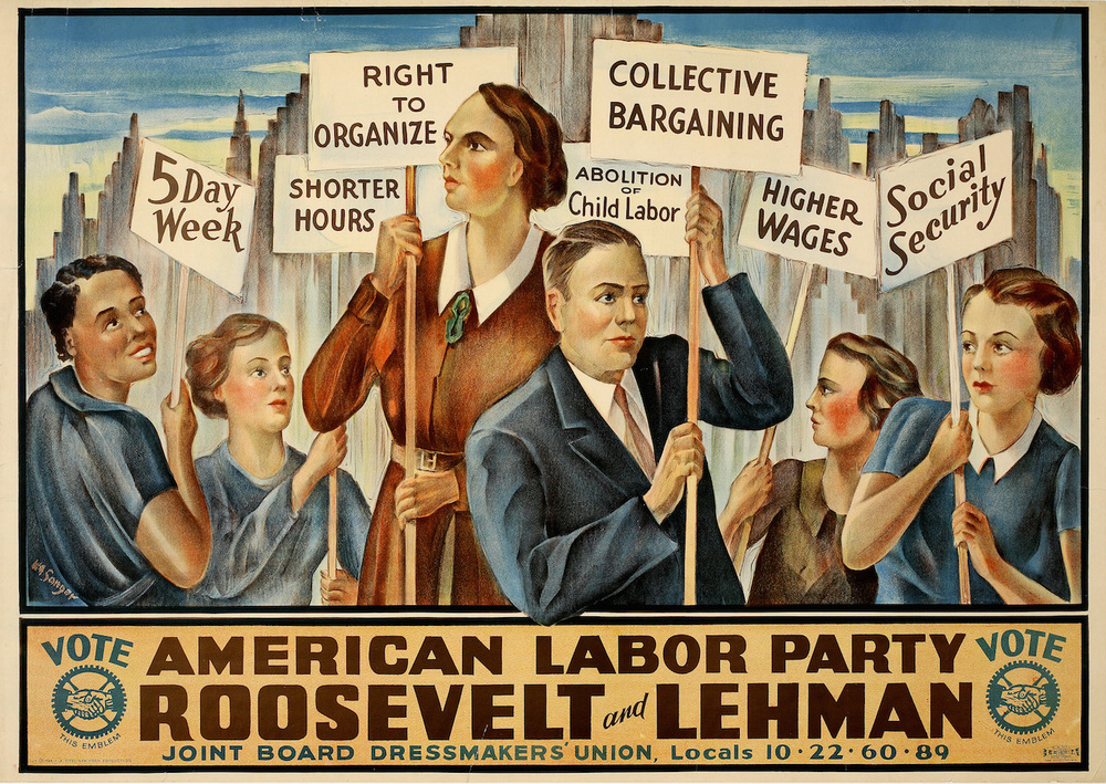 Avid collector Scott Mussell is offering $3500.00 for an example of this scarce political campaign poster.