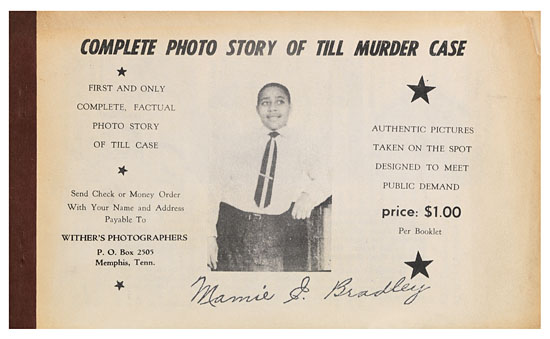 This photo book was produced by Earnest Wither one of the most prolific photographers of the civil rights movement. If you have this or other items relating to Emmett Till and/or the civil rights movement contact Scott Mussell at srmussell@me.com or 515.707.7250 anytime.