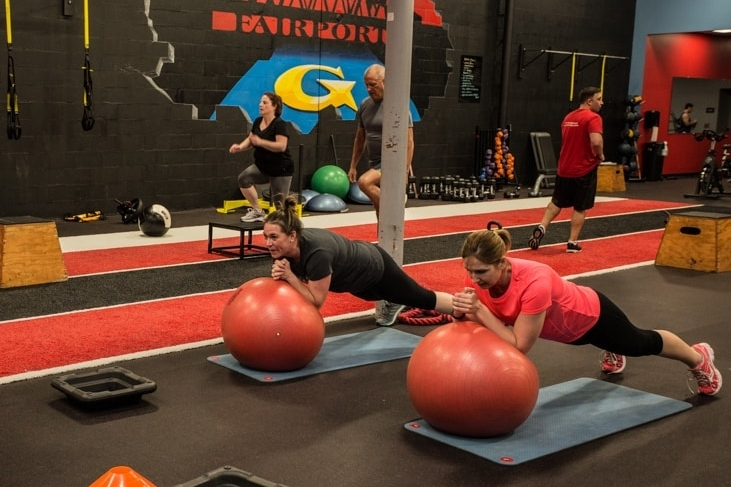 Fairport group excercise