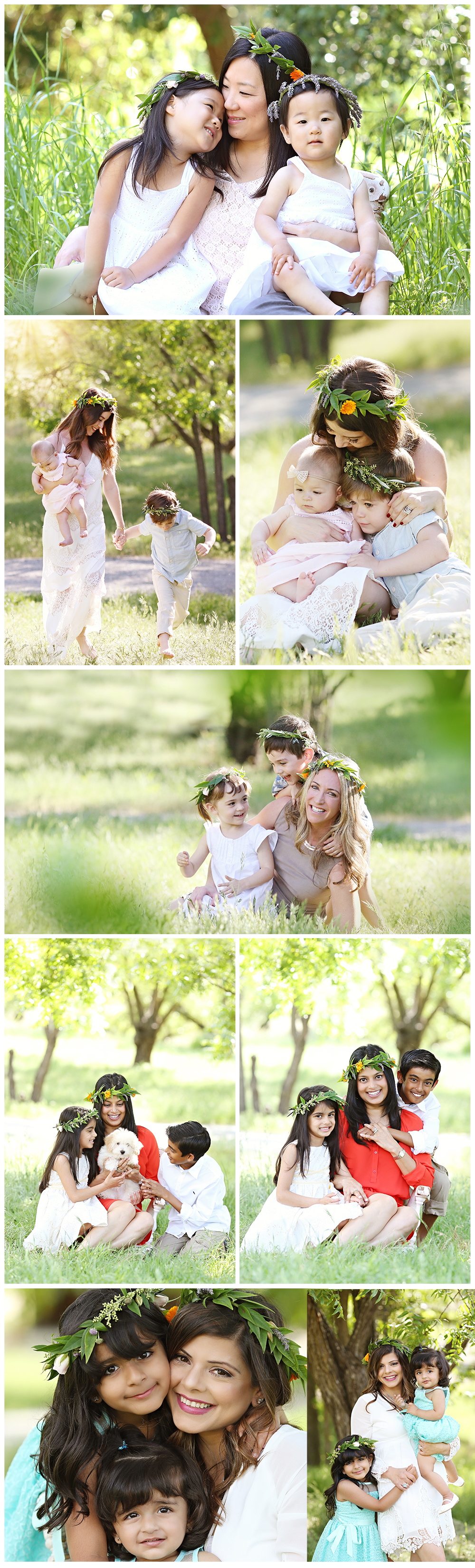Mothers Day Flower Crown Mini Sessions Lamorinda Family