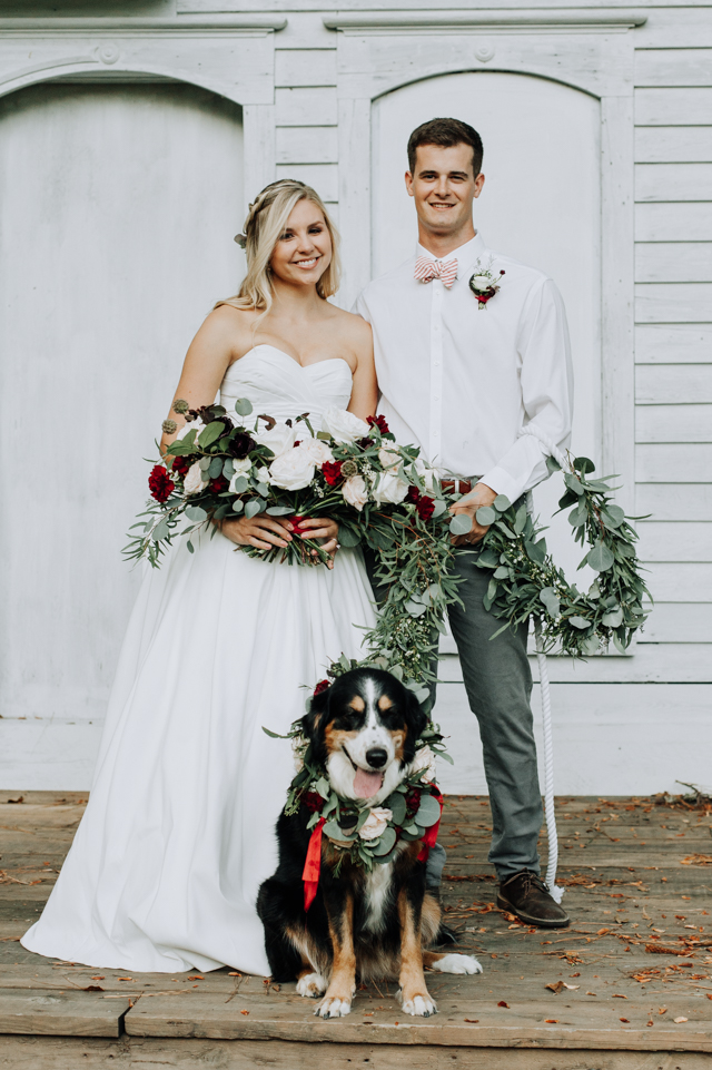 Shelter Dog Wedding Inspiration