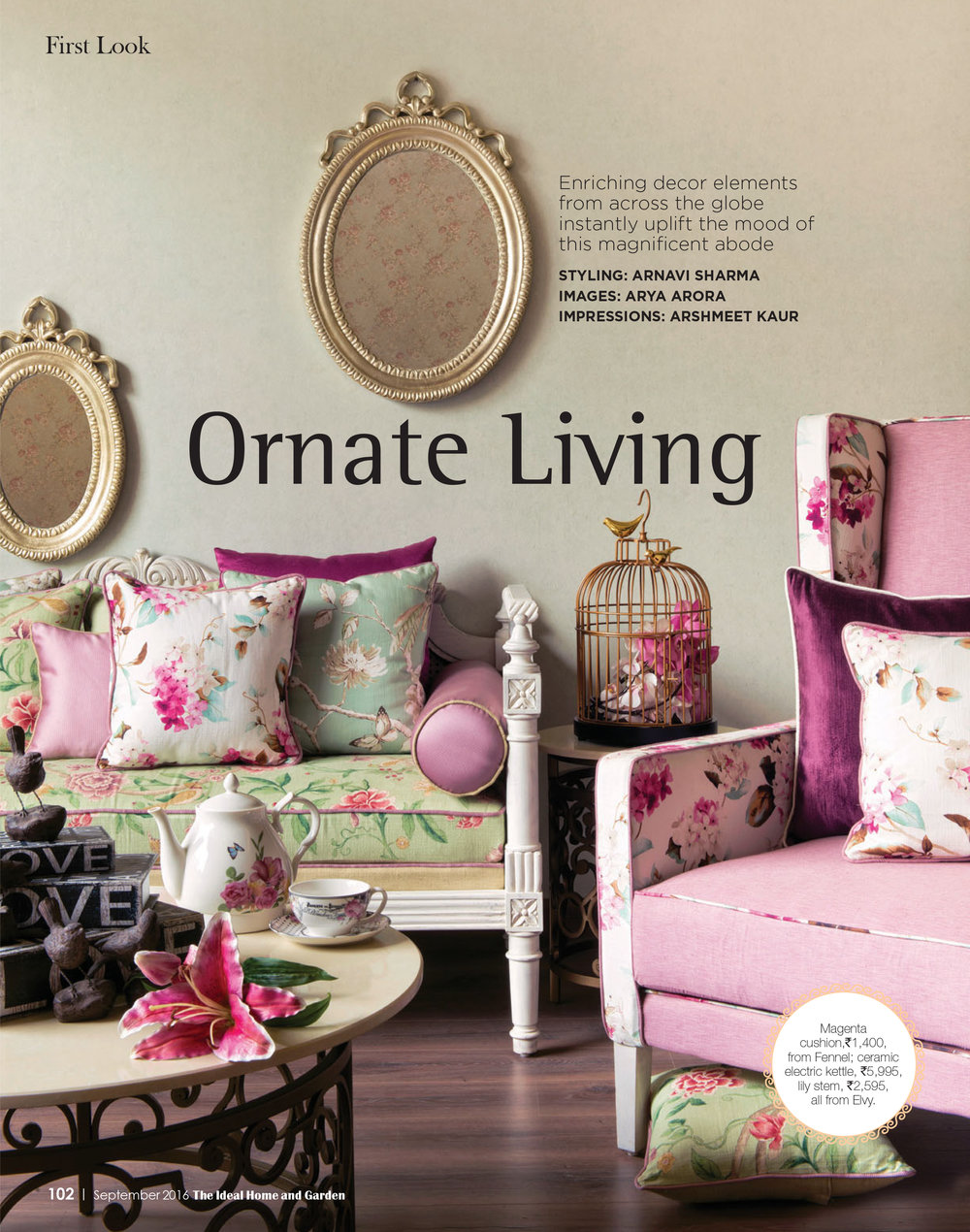 Ideal Homes - Ornate Living
